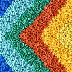 Coloured HDPE Granules