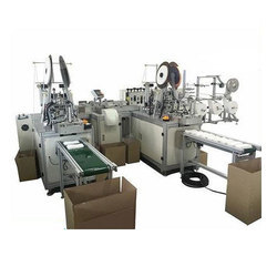 2 Inner Fully Automatic Face Disposable Non Woven Surgical Mask Making Machine