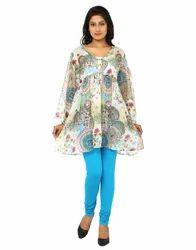Cotton Printed Multicolor Tunic