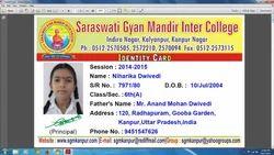 Digital Printed ID Card