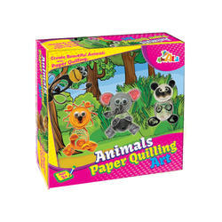 Animal Paper Quilting Board Games