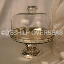 Clear Glass Cake Cover