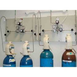 Industrial Gas Manifold With Change Over System