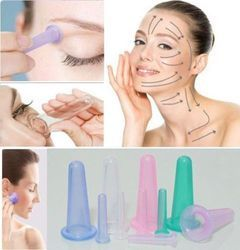 Silicone Massage Vacuum Cupping Mini Facial Eye Nose Cup