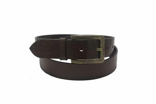34f33121d Leather Belts - Hidelink Brown Genuine Leather Belt Wholesaler from ...