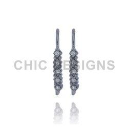 Diamond Designer Ear Wire Findings