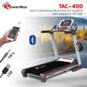 Powermax TAC-400 Semi-Commercial Motorized AC Treadmill with Android & iOS App