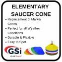 Elementary Saucer Cone