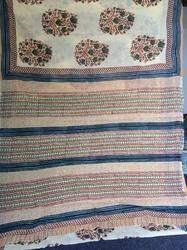 Block Printed Cotton Sarees