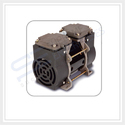 Twin Head Piston Vacuum Pump