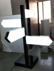 Acrylic Direction LED Sign