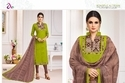 Collar Neck Madhushala Salwar Suit Fabric