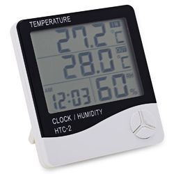 Digital Temperature and Humidity Indicator