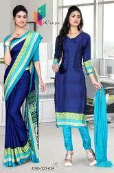 Uniform Saree Salwar for hotel staff