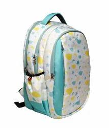 "Caris T Blue Printed 17"" Inch Laptop Bag"