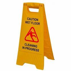 Caution Floor Stand