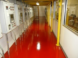 Floor Coating Seamless Pu Epoxy Deltabond USAF-200