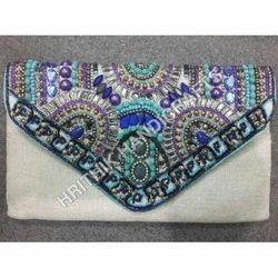 Beads Clutch Bag