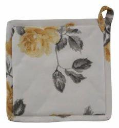 Elan Flower Printed Pot Holder