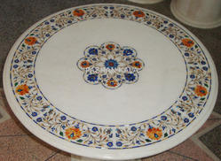 Stone Marble Inlay Coffee Table