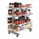 Display Gondola For Protien Suppliment Products