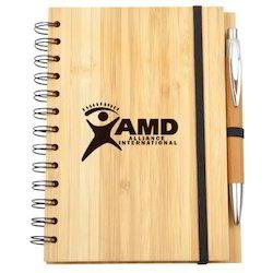 Eco Bamboo Notebook