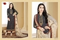Collar Neck Grey Palak Salwar Suit