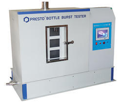 Touch Screen Bottle Burst Tester