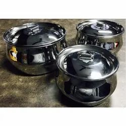 Stainless Steel Serving Bowl Set
