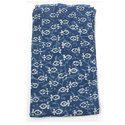 Hand Block Dabu Discharge Print Fabric