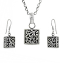 Artisan 925 Sterling Silver Jewelry Set