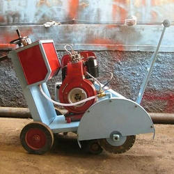 Concrete Cutter With Engine