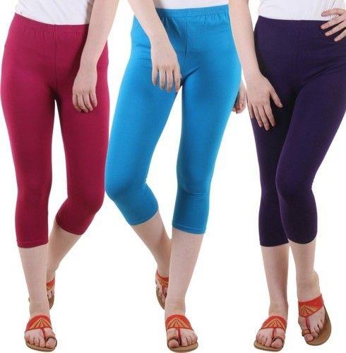 10e174122ae14 Cotton Leggings - Capri Manufacturer from Delhi
