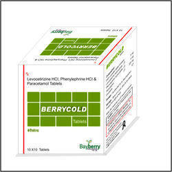Levocetirizine Hcl, Phenylephrine Hcl, Paracetamol Tablet