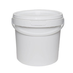 White Color Plastic Paint Containers