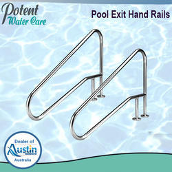 Swimming Pool Exit Hand Rails