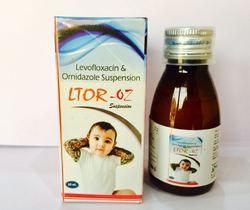 Levofloxacin 50   Ornidazole 125 Susp