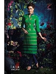 Cotton Embroidery Ladies Suit