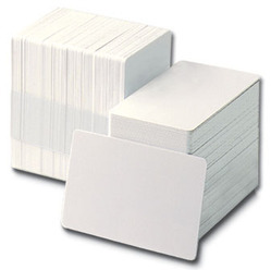 PVC Blank White Card