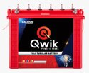 Qwik Tall Tubular Inverter Battery Qm16000 (150ah), Warranty: 48 Months
