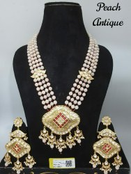 Antique Kundan Mala Pendant Sets