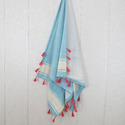 Poly Terry Cotton Hammam Towel Turkish Towels
