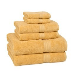 Solid Color Bath Towels