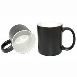 Color Change Mug-Matt Black