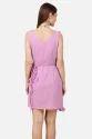Pink Frill designer Short Dress