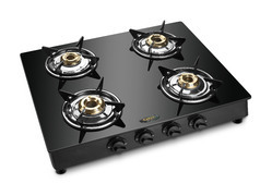 Four Burner Glass Top Gas Stoves SU-4B-452 MS MODEL