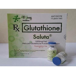 Saluta 1800mg Glutathione 10 Vials Injection