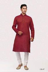 Long Mens Wear Kurta With Churidar