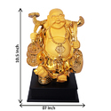 Gold Plated God Buddha Statue
