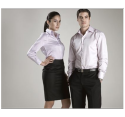 Men And Women Plain Corporate Dress Uniforms, Size: Small And Medium